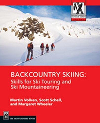Martin Volken Backcountry Skiing Skills For Ski Touring And Ski Mountaineering