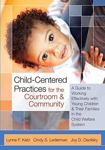 Lynne Katz Child Centered Practices For The Courtroom And Com A Guide To Working Effectively With Young Childre