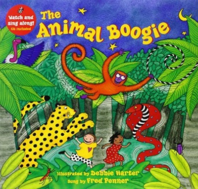 Debbie Harter The Animal Boogie [with CD (audio)] [with CD (audi