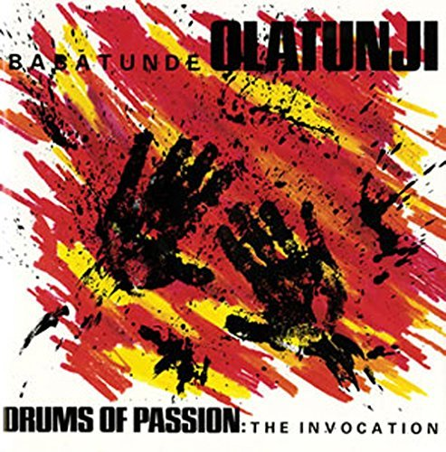 Babatunde Olatunji Drums Of Passion The Invocati CD R