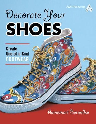 Annemart Berendse Decorate Your Shoes Create One Of A Kind Footwear