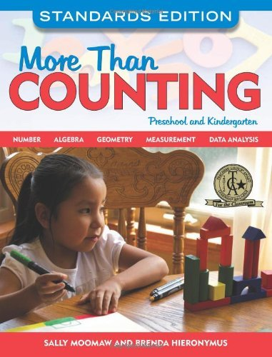 Sally Moomaw More Than Counting Math Activities For Preschool And Kindergarten Standards