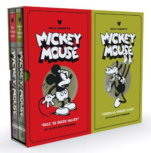 Floyd Gottfredson Walt Disney's Mickey Mouse Collector's Box Set