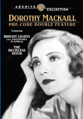 Bright Lights Reckless Hour Mackaill Dorothy DVD Mod This Item Is Made On Demand Could Take 2 3 Weeks For Delivery
