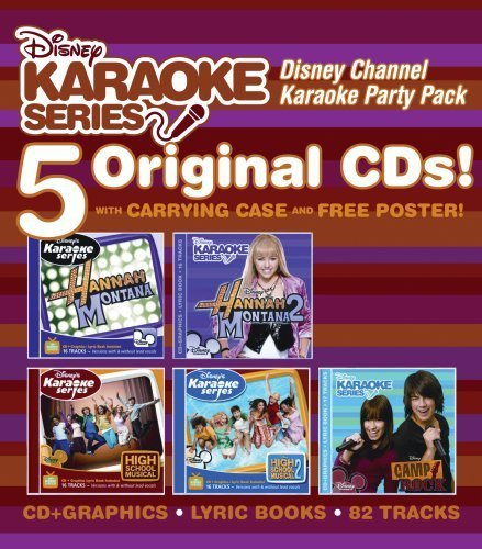 Disney Karaoke Series Disney Channel Karaoke Party P 5 CD