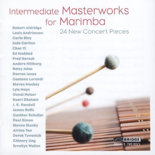 Bley Johnston Schuller Masterworks For Marimba 2 CD
