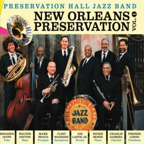 Preservation Hall Jazz Band Vol. 1 New Orleans Perservatio