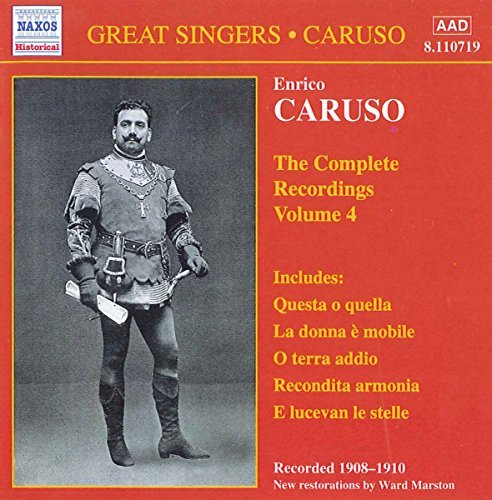 Enrico Caruso Complete Recordings Of Enrico Caruso (ten)