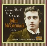 John Mccormack Come Back To Erin Mccormack (ten)