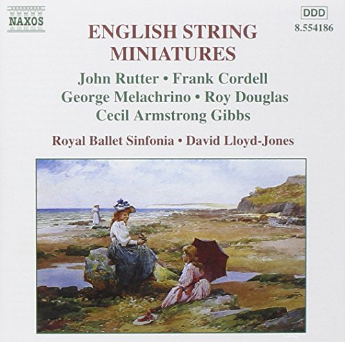 Rutter Cordell Melachrino Doug English String Miniatures Vol. Lloyd Jones Royal Ballet Sinf