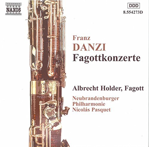 F. Danzi Bassoon Concertos Holder*albrecht (bsn) Pasquet Neubrandenburger Phil