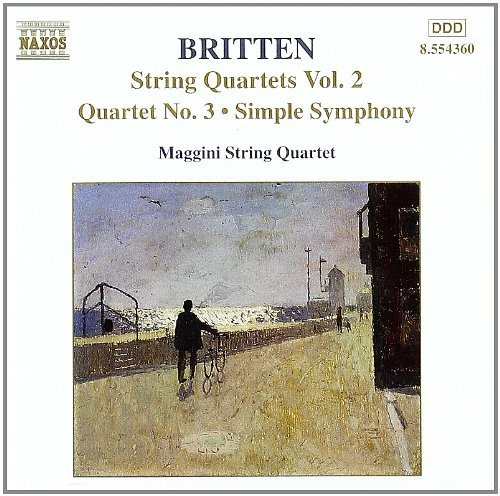 B. Britten Qts Str Vol. 2 Maggini Str Qt