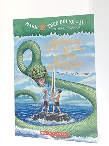 Mary Pope Osborne Summer Of The Sea Serpent Magic Tree House #31