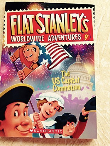 Josh Greenhut The Us Capital Commotion Flat Stanley's Worldwide Adventures #9