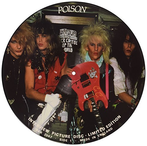 Poison Interview Picture Disc Picture Disc