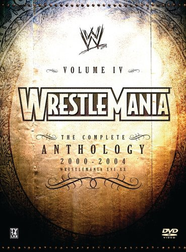 Wwe Vol. 4 Wrestlemania Clr Nr 5 DVD