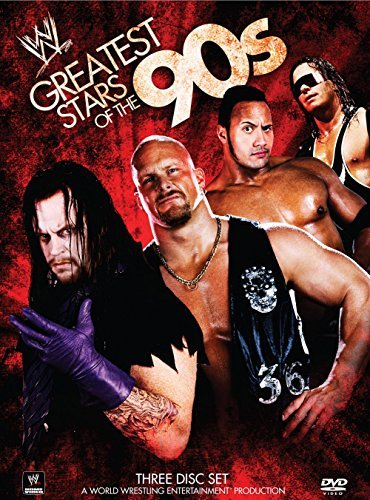 Greatest Stars Of The 90's Wwe Tv14 3 DVD