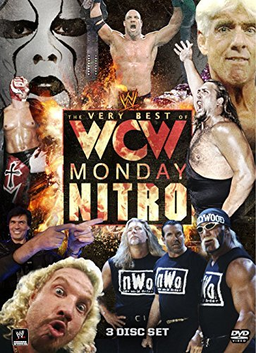 Very Best Of Wcw Monday Nitro Wwe Tvpg 3 DVD
