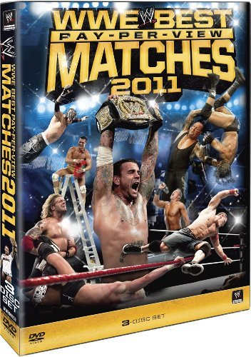 Best Pay Per View Matches Of 2 Wwe Ws Tvpg 3 DVD