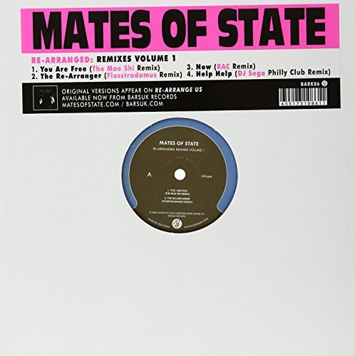 Mates Of State Vol. 1 Re Arranged Remixes