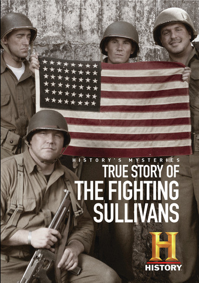 the-true-story-of-the-fighting-sullivans-historys-mysteries-dvd-mod-this-item-is-made-on-demand-could-take-2-3-weeks-for-delivery