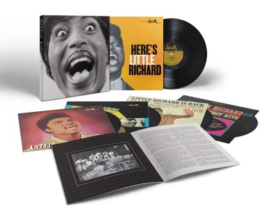 Little Richard Mono Box Complete Specialty Vee Jay Albums