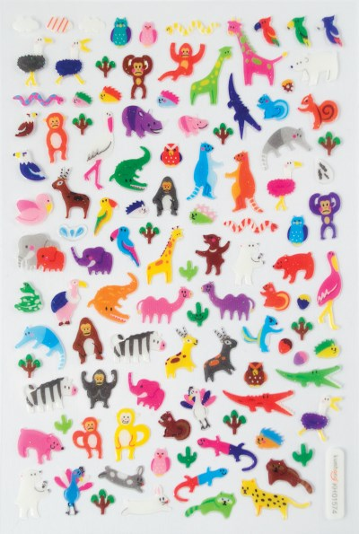 Itsy Bitsy Stickers Jungle Pals