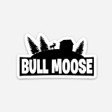 Bull Moose Limited Sticker Moosenite Designed By Chloe Grant