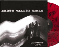Death Valley Girls Darkness Rains (translucent Red W Black Splatter Vinyl) Includes Poster & Download Card Ltd To 1500 Copies
