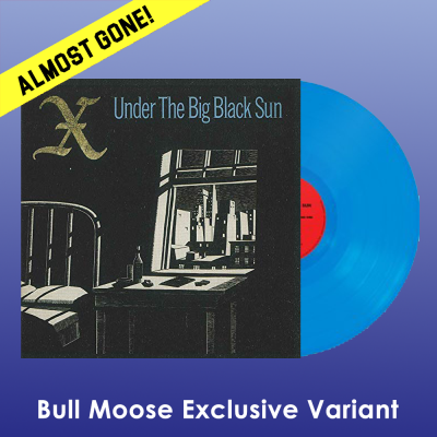 X Under The Big Black Sun (blue Vinyl) Bull Moose Exclusive Blue Vinyl Ltd To 300