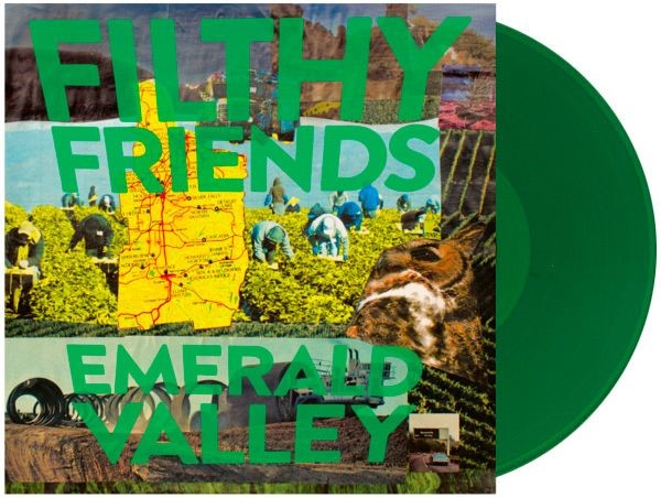 Filthy Friends Emerald Valley (green Vinyl) Opaque Green Vinyl W Dl