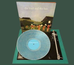 the-bird-the-bee-the-bird-the-bee-140g-green-vinyl-rsd-exclusive-2019-ltd-to-1000