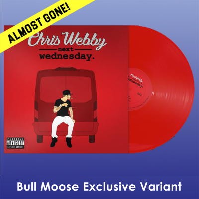 Chris Webby Next Wednesday (red Vinyl) Bull Moose Exclusive #12 Limited To 200 Copies