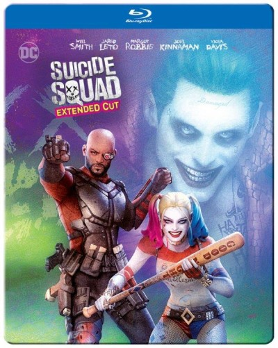 Suicide Squad Robbie Leto Smith Blu Ray Steelbook