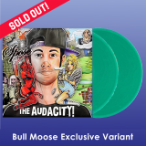 Spose The Audacity! (green Vinyl) 2lp Transparent Green Vinyl Bull Moose Exclusive No. 21 Ltd To 500 Copies