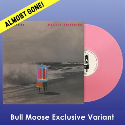 Superchunk Majesty Shredding 10th Anniversary Translucent Pink Vinyl