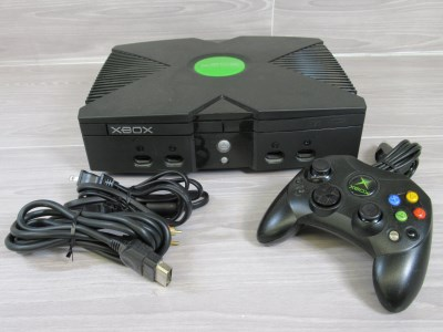 Goodtech Xbox Original Video Game Console Bundle With Controller And Cords