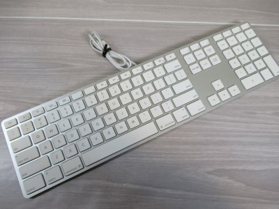 Goodtech Apple Aluminum Wired Usb Full Size Keyboard Number Pad Model A1243