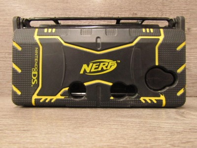 Goodtech Nerf Armor Black Case For Nintendo 3ds Skin Protective Case Protective Case For Nintendo 3ds