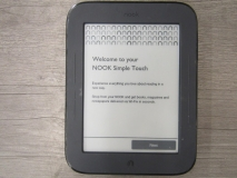 Goodtech Barnes & Noble Nook Simple Touch 240mb Black Ereader Ebook Reader Ereader Barnes & Noble Nook Ereader 240mb