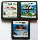 Nintendo Ds 3 Game Lot Cartridge Only Super Mario Brothers Lot Mario Kart Super Mario 64 New Super Mario Bros.