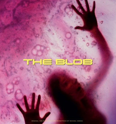 Blob (1988) Soundtrack Music By Michael Hoenig Clear With Pink Smoke Vinyl Graywhale Exclusive Limited To 100