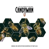 Candyman (1992) Soundtrack Music By Philip Glass Clear With Yellow Smoke Vinyl Graywhale Exclusive Limited To 100