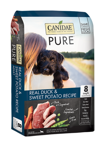 canidae-dog-food-pure-real-duck-sweet-potato-recipe