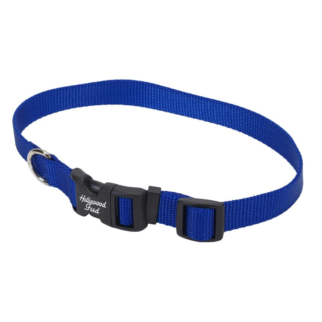 hollywood-feed-nylon-dog-collar-blue