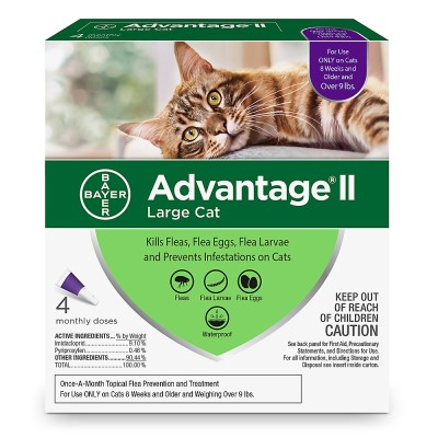 bayer-advantage-ii-flea-prevention-for-cats-over-9-lbs