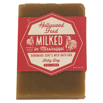 hollywood-feed-milked-in-mississippi-goat-milk-soap-itchy-dog