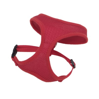coastal-comfort-soft-harness-red