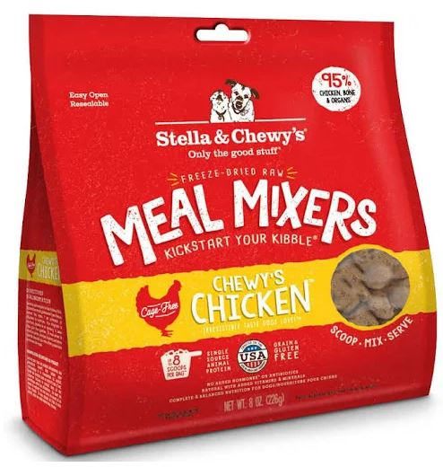 stella-chewys-dog-food-freeze-dried-chewys-chicken-meal-mixer