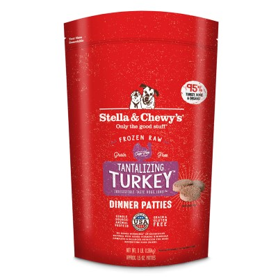 stella-chewy-frozen-dog-food-dinner-patties-tantalizing-turkey